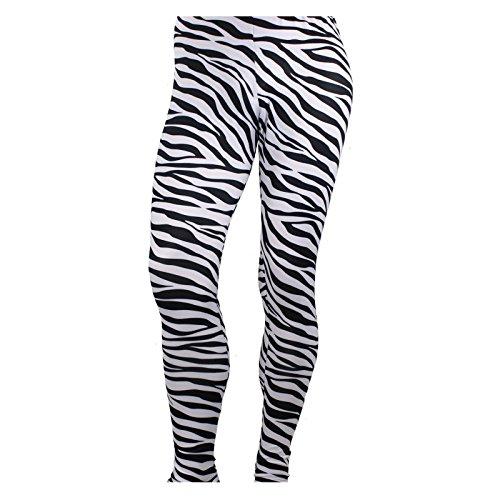 Largemouth Men's Heavy Metal Pants Zebra Black/White -