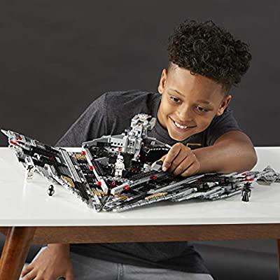 LEGO Star Wars Episode VIII First Order Star Destroyer 75190 Building Kit (1416 Piece): Toys & Games
