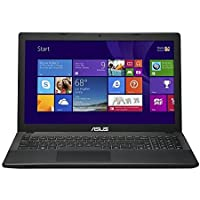 Asus 15.6 Laptop PC - Intel Celeron N2830 Processor 2.16GHz / 4GB Memory / 500GB Hard Drive / DVD±RW/CD-RW / Webcam / Windows 8.1 64-bit / Black