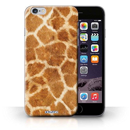 Hülle Case für iPhone 6+/Plus 5.5 / Orange Entwurf / Giraffe Tier Haut/Print Collection