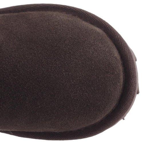 Emu Wallaby Hi Mädchen Langschaft Stiefel Braun (Chocolate)