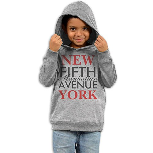 ZhiqianDF Girls Fifth Avenue New York Lovely Hoodies4 Toddler - Avenue North Shopping