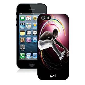 NIKE Just Do It iPhone 5 pc Case, Black