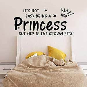 BFMBCH Hot Princess Art Wall Sticker Vinyl Baby Room ...