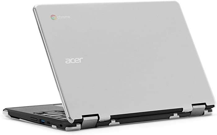 "mCover iPearl Hard Case for 11.6"" Acer Chromebook Spin 11 R751T CP311 CP511 Series (NOT Compatible with R11 CB5-132T / C738T, C720/C730/C740/CB3-111/CB3-131 Series) Convertible Laptop (Clear)"
