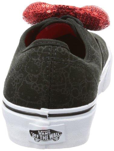 Vans U AUTHENTIC (HELLOKITTY)BLK - Zapatillas de lona unisex negro - Schwarz ((Hello Kitty) black/sequin bow)