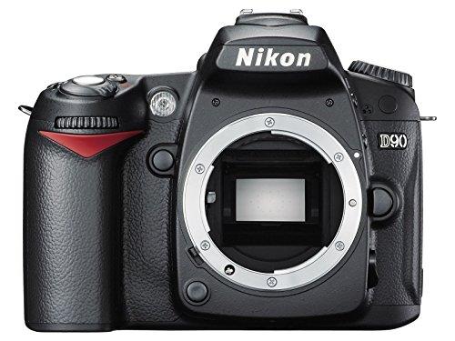 Nikon D90 Digital SLR Camera Body Only (12.3MP) 3 inch LCD (Certified Refurbished)