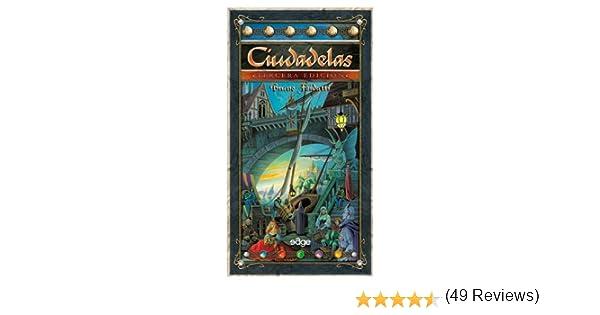 Edge Entertainment Ciudadelas 3ed-Cartas: Amazon.es: Juguetes y juegos