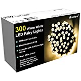 iBoutique 300 LED Extra -Bright Fairy Lights for Christmas / Garden - Warm White