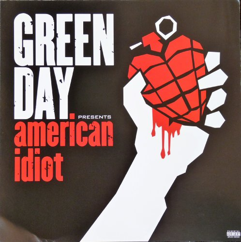 Green Day - American Idiot - Rare 2-sided Advertising Poster