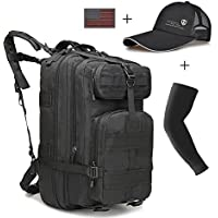REBIG Military Tactical Backpack big Rucksacks Hiking Bag...