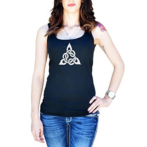 Trim Celtic Knot (Women's Celtic Cross Knots Tank Top Large Black)