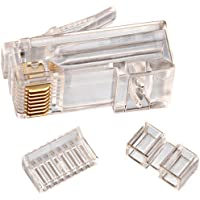 IDEAL 85-366 CAT-6 RJ45 Modular Plug Card of 25 Consumer electronic