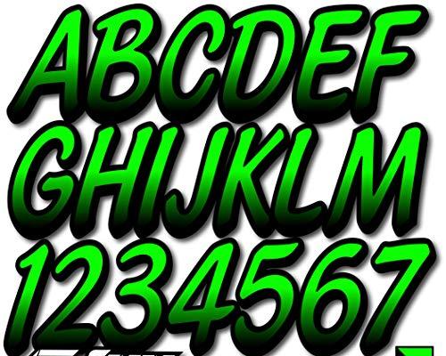 STIFFIE Whipline Electric Green/Black 3