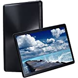 KuBi 10 inch Tablet Android Octa Core Tablet Two Sim Card Slots Unlocked 3G 4G Phone Call Phablet 4GB RAM 64GB ROM Tablet PC Built in WiFi Camera GPS (Black)