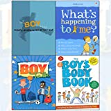 img - for Boy Files[Flexibound],The Boy's Body Book,Growing Up,What's Happening to Me?: Boy 4 Books Collection Set book / textbook / text book