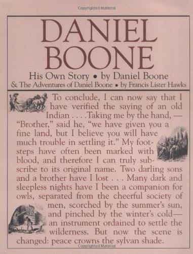 Daniel Boone: His Own Story