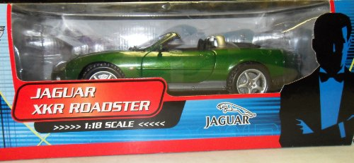 Jaguar XKR Roadster James Bond 007 Die Another Day 1:18 Die Cast Vehicle The Bean Stalk Group Jaguar Xkr James Bond