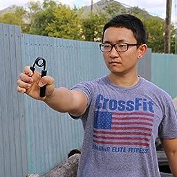 xfitness Hand Gripper Grip Strength Trainer Set of 3 250 300 350 lbs