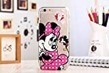 BB Kate : Soft TPU Transparent Clear Mickey Minnie Mouse Stitch Pooh Toy Monster Cartoon Case Cover for Iphone 6 Plus Cell Phone Cases K01