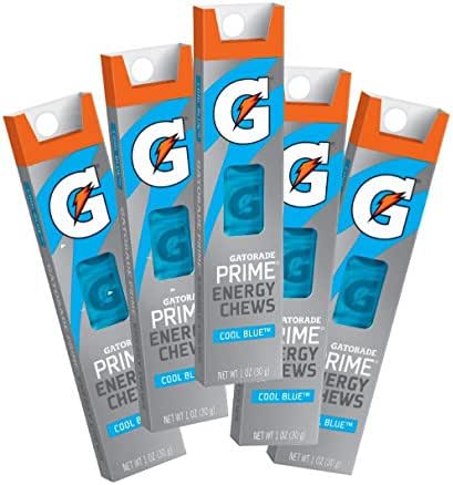 Energy & Endurance: Gatorade Prime Energy Chews