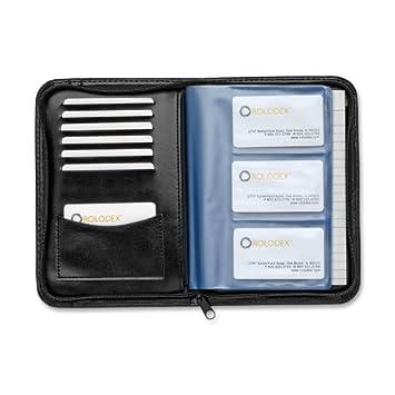 Sanford rolodex business card book with zipper 120 card black sanford rolodex business card book with zipper 120 card black 66490 colourmoves