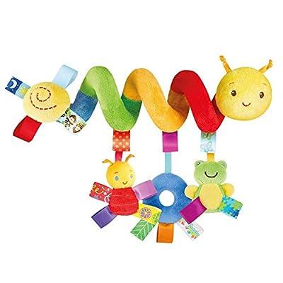 Thobu Baby Activity Spiral Stroller Car Seat Travel Lathe Hanging Toys Rattles Toy Hot