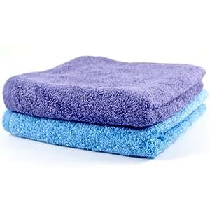 Linensource carnaval y azul piscina algod n toallas de for Toallas piscina