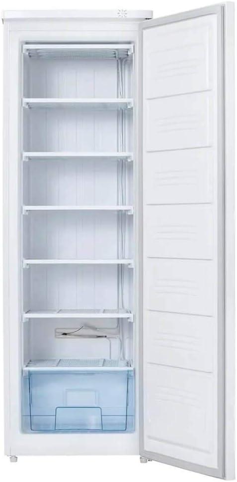 White Upright Freezer Danby DUF071A3WDB 7.1 Cu.Ft