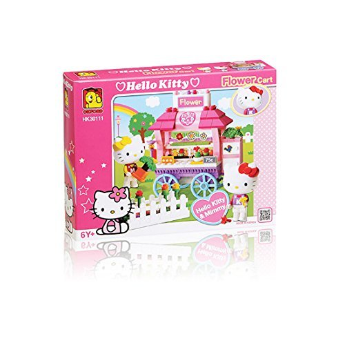 OXFORD (Oxford) Hello Kitty HK30111 Hello Kitty Flower Cart (overseas direct delivery goods)