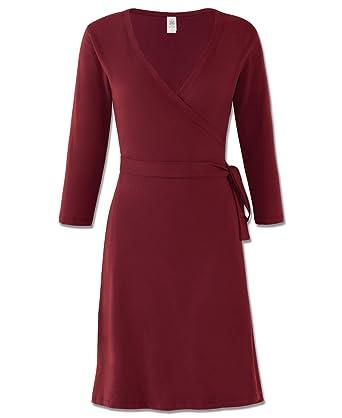a5577e383ec5cc Soul Flower Women's Organic Cotton Wrap Dress at Amazon Women's Clothing  store:
