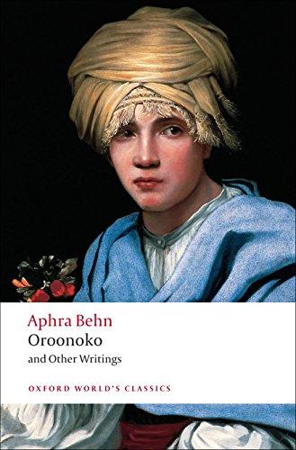 Oroonoko, and Other Writings (Oxford World's Classics) [Aphra Behn] (Tapa Blanda)