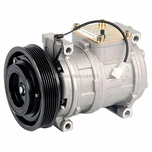 AC Compressor & A/C Clutch For Dodge Chrysler & Plymouth Minivans - BuyAutoParts 60-01473NA NEW ()