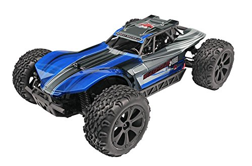 Redcat Racing Blackout XBE Electric Buggy with Waterproof Electronics Vehicle (1/10 Scale), Blue