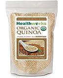 Healthworks Quinoa 32 oz White Whole Grain Raw Organic USDA Certified 2 lb