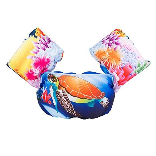 Learn to Swim Life Jacket,Swim Aid Floater Life Vests (22-66 bl) (Turtle) (Swim Life)