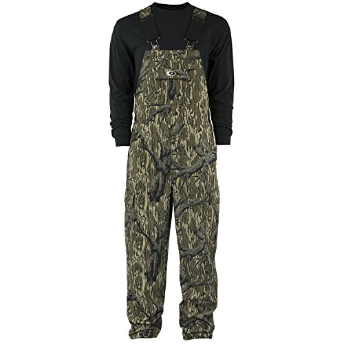 Review Mossy Oak Men's Cotton Mill Hunt Bib Overall