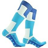 [SGS Certified] RANDY SUN Unisex Knee Length Waterproof Sock Dry Protection 1 Pair