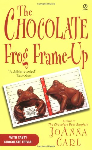 book cover of The Chocolate Frog Frame-Up