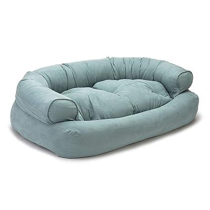 Pleasant Snoozer Luxury Overstuffed Microsuede Pet Sofa Download Free Architecture Designs Fluibritishbridgeorg