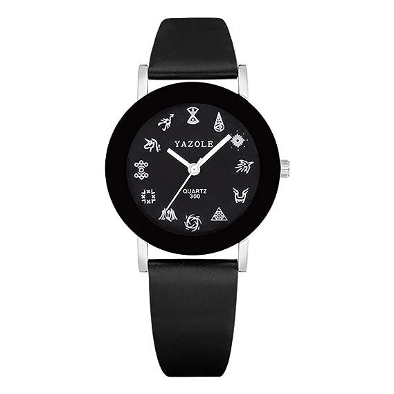 HWCOO Hermoso Relojes de Pulsera 300 Exo Watch Watch Reloj de Cuarzo para niños (Color : 2): Amazon.es: Relojes