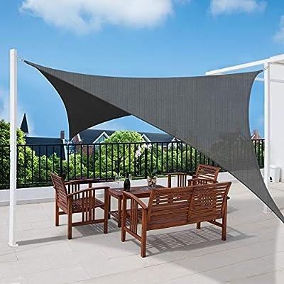 Sol Royal SolVision HS9 Vela de Sombra Toldo Parasol 300x200 cm HDPE Transpirable Antracita protección UV: Amazon.es: Jardín