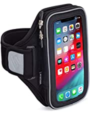 Sporteer Velocity V8 Running Armband - iPhone 12 Pro Max, 11 Pro Max, Xs Max, iPhone 11, XR, 8 Plus, Galaxy S20+, S10 Plus, S20, S10, Note 9, S9 Plus, Pixel 4 XL, LG, Moto - FITS Cases