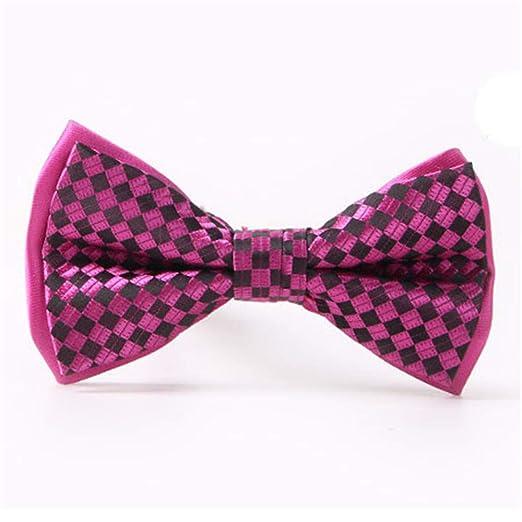 Pajaritas Moda Hombre Corbata de lazo casual de la moda de la tela ...
