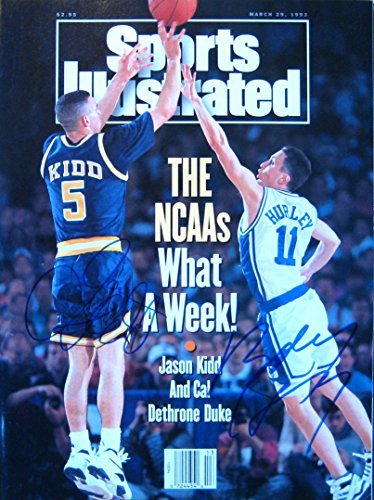 (Kidd, Jason & Hurley, Bobby 3/29/93 autographed magazine)