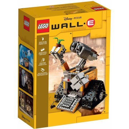 LEGO Ideas WALL-E, 677 Pieces ,Age Range: 12 years and up by LEGO (Image #1)