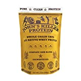 Cheap New – John's Killer Protein – Complex Carb Blend. A Perfect Mix of Double-Milled Organic Non-GMO Whole Oats and Our 100% Grass fed Protein. Dissolves smoothly & Ideal in Your Shaker Cup.