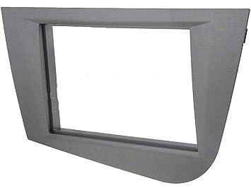Carcasa para radio para Seat Leon AP05, color antracita ...