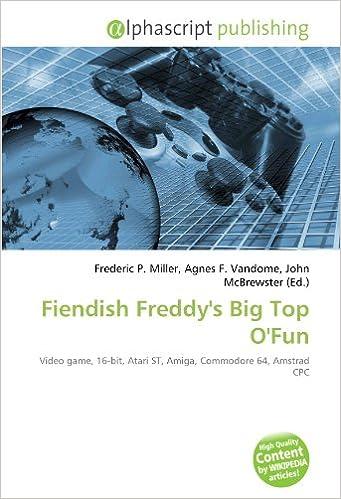 Buy Fiendish Freddy's Big Top O'Fun: Video game, 16-bit, Atari ST