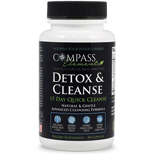 Detox & Cleanse 15 Day Quick Cleanse Advanced Formula | Supports Digestive & Immune Health Weight Loss Energy Levels | Colon Cleanse Gentle & Natural Dietary Supplement (Best Affordable Sauvignon Blanc)
